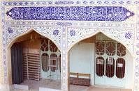 نمای مسجد جامع از بیرون